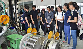 STUDENTS FROM KASETSART UNIVERSITY PAID A VISIT TO TD FACILITIES